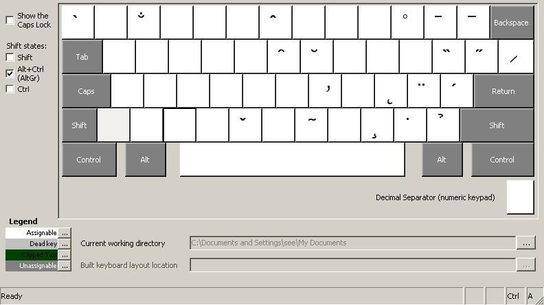 Alternate Keyboards for Windows